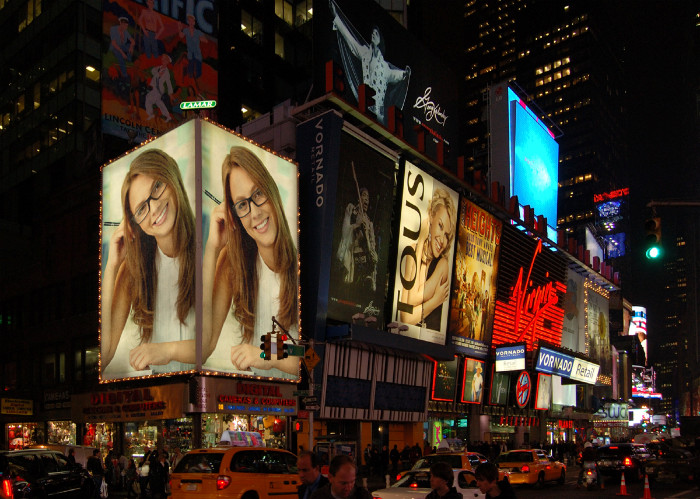 put photo or logo on 50  BILLBOARDS city posters