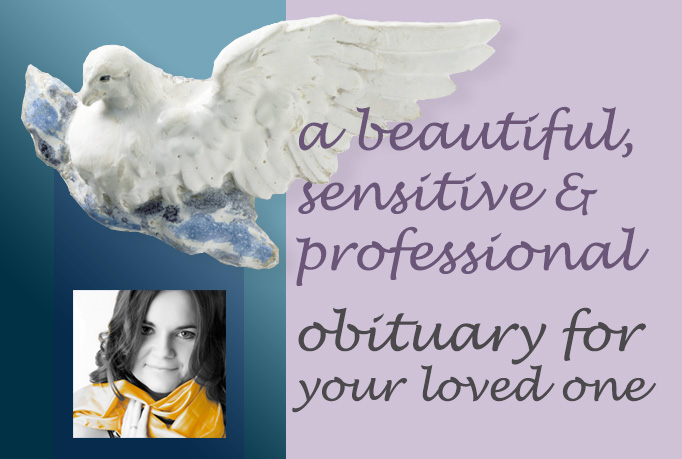 write a beautiful obituary for your loved one