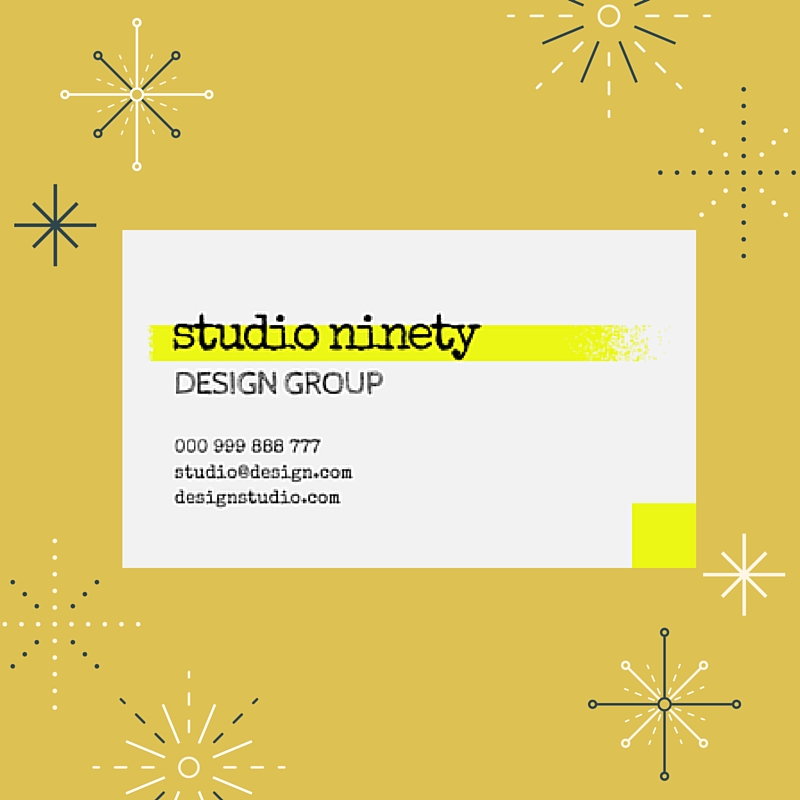create an alluring business card