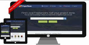 provide a PROJECT BIDDING theme on your website