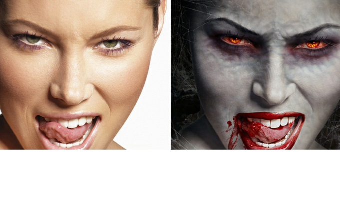 transform you Into Horror ZOMBIE in 24 hours