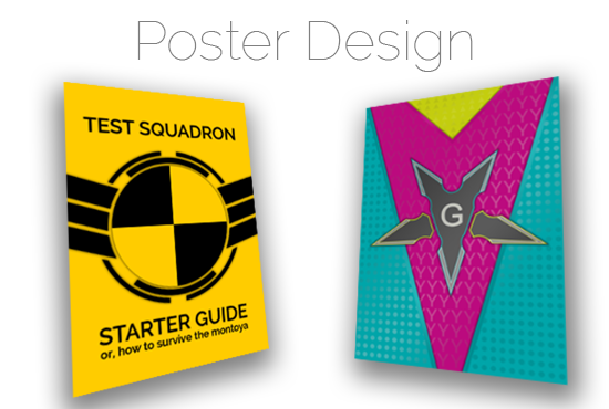 design modern posters and eye catching flyers