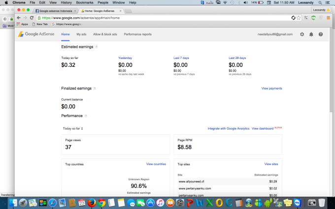 give you fully approved adsense Non Hosted All Countries