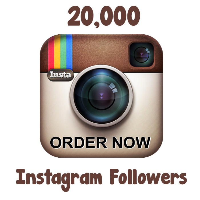 add 20,000+ Instagram followers to your instagram account just
