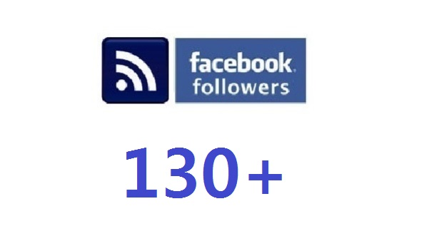 add 130 real facebook followers to your account