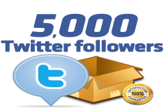 add 2000 HQ Twitter Followers Permanent and Safe