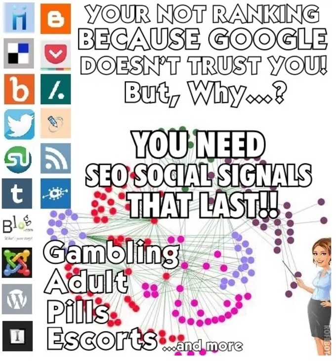 create 173 ADULT Social Signals Bookmarks
