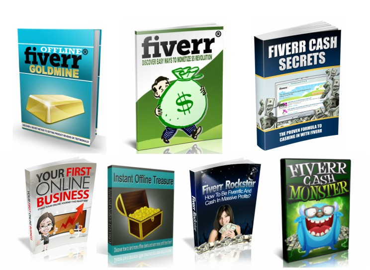 give you 7 awesome ebooks about fiverr and affiliate marketing