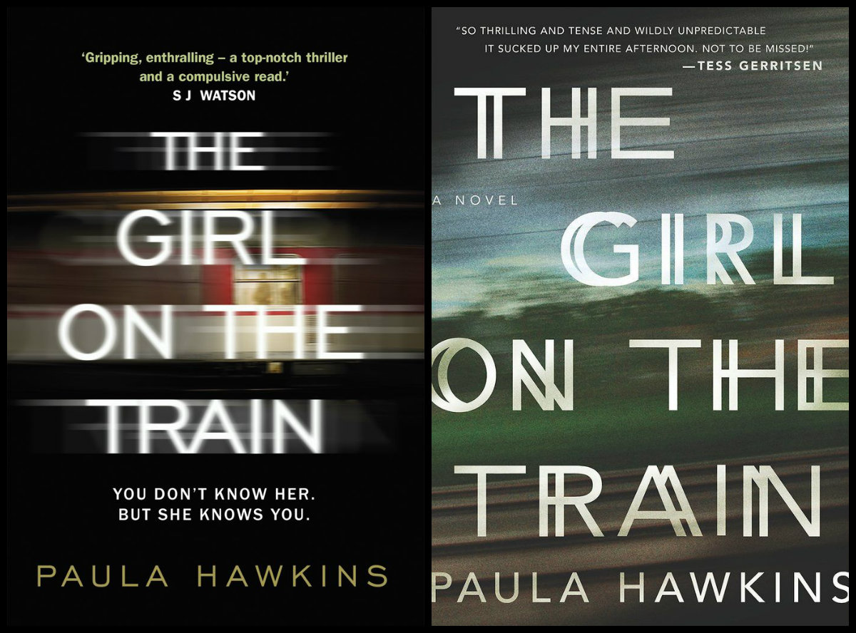give a copy of the most popular book of 2015 The girl on the train