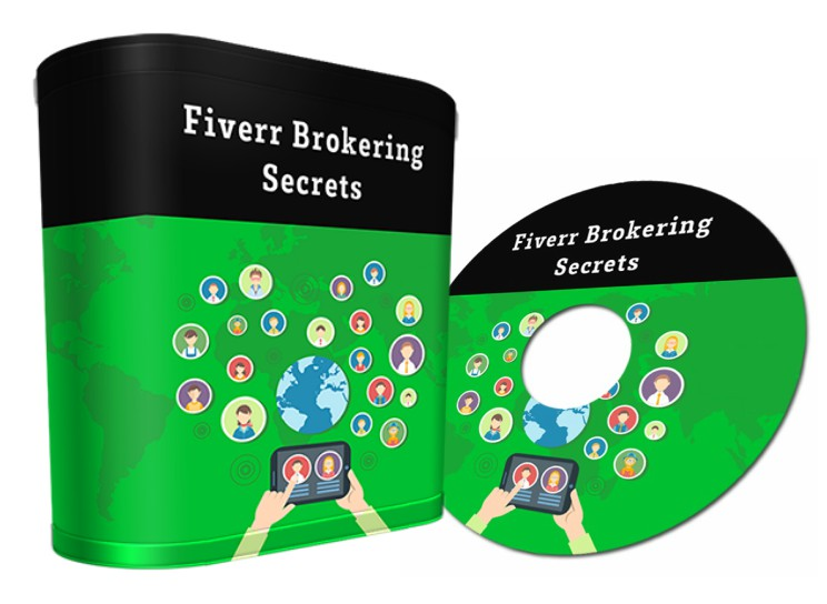 send you Fiverr Brokering Secrets course Videos  Resell Right