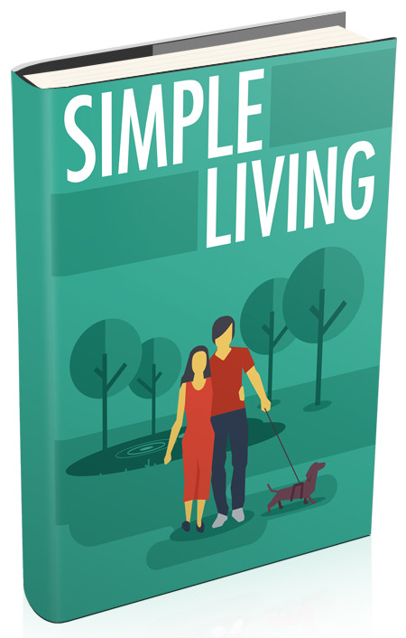 """give u an awesome book """"simple living"""