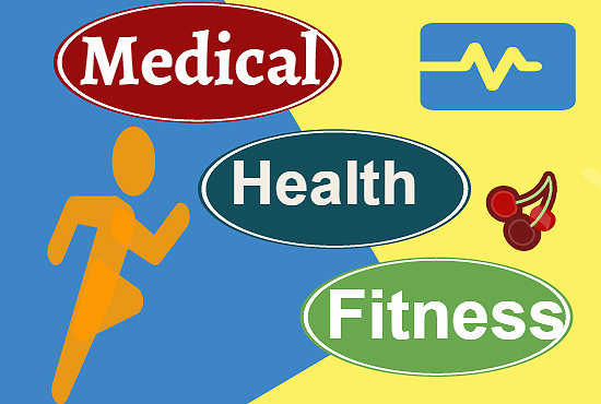 write 400 words on health fitness medical topics
