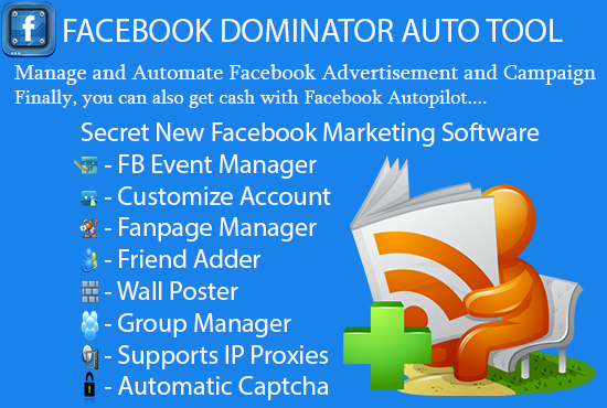 give You Facebook Dominator Auto Tool