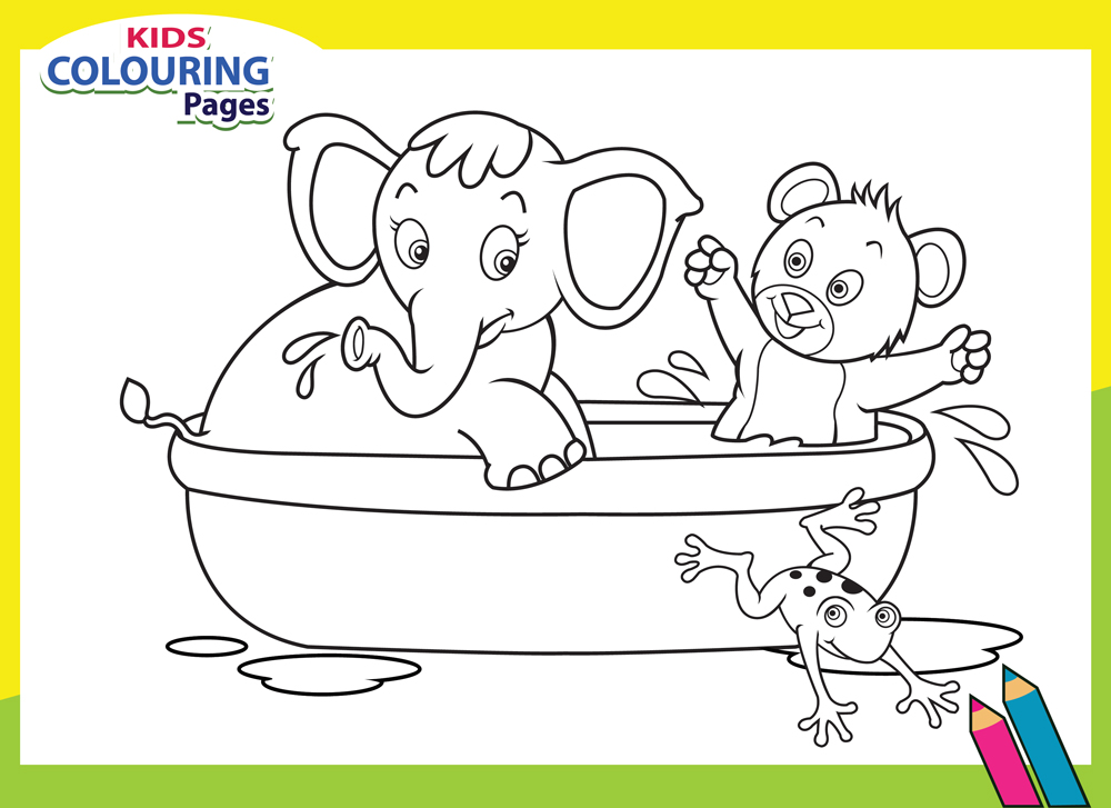 do coloring pages for kids