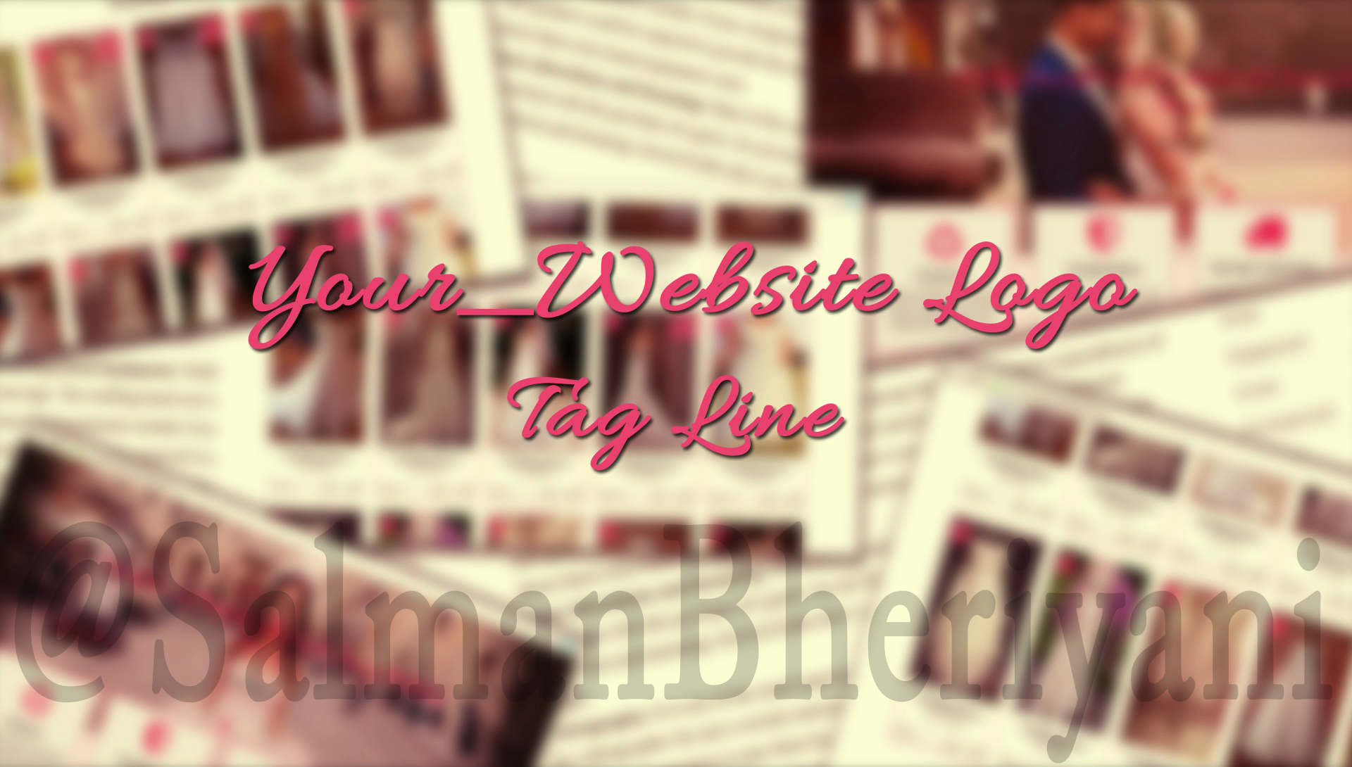 make a creative commecial for preowned dresses website
