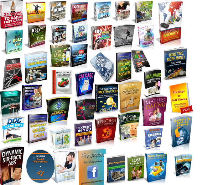 give you 750 ebooks collection of various mrr plr