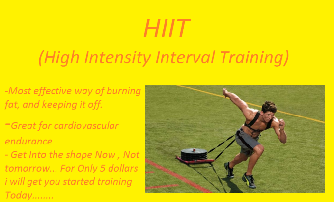 write you 3 custom HIIT training workouts