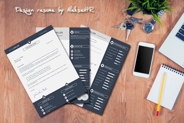 design RESUME and Cover Letter for you