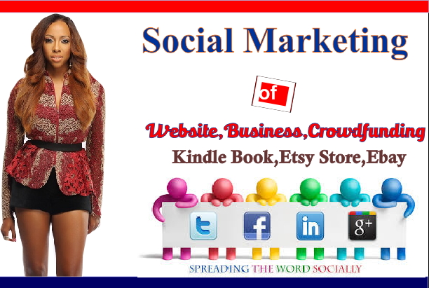 promote your website ebook apps store kindle to million social members