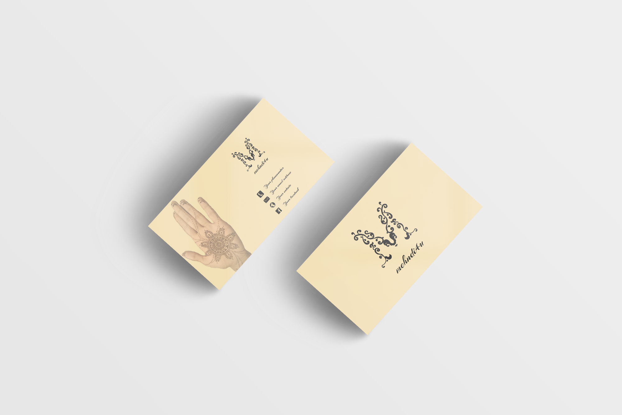 create an OUTSTANDING  double-sided business card for you in 24 hrs
