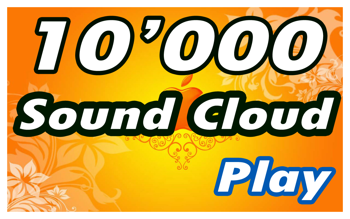 add 10,000 Real HQ Soundcloud Plays in 24 Hours