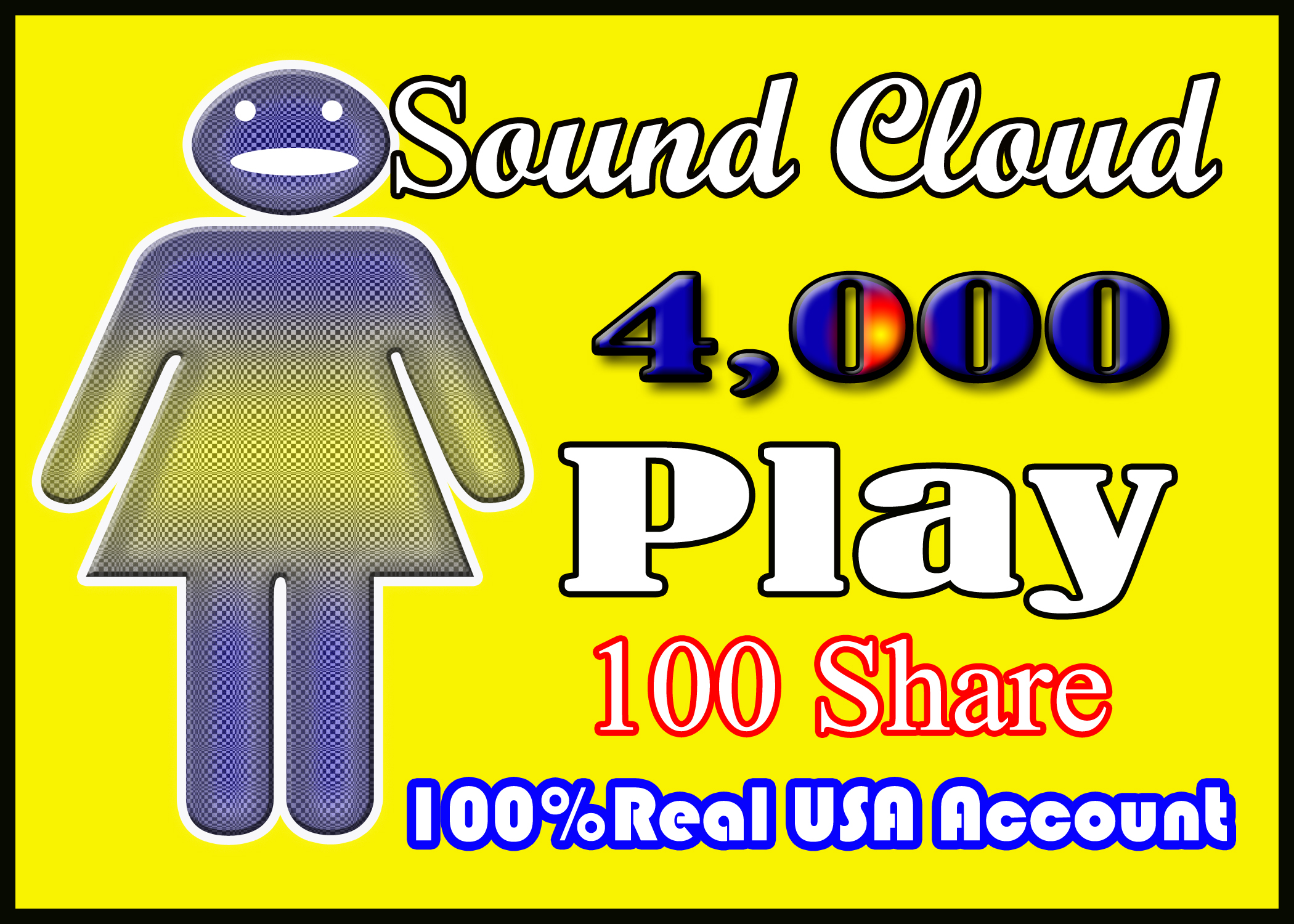 4,000 + Soundcloud Plays in Your Track Instant