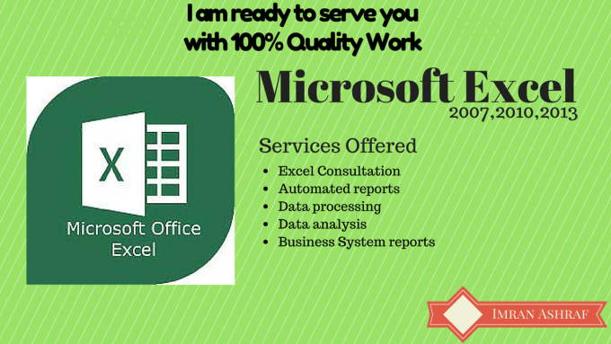 build excel automated reports,validation,pivot,formatting,dashboard