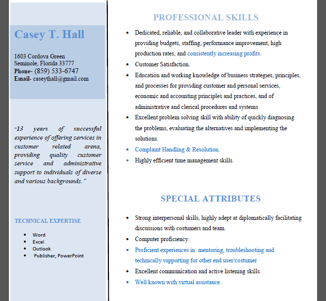 rewrite,modify,update and design your resume