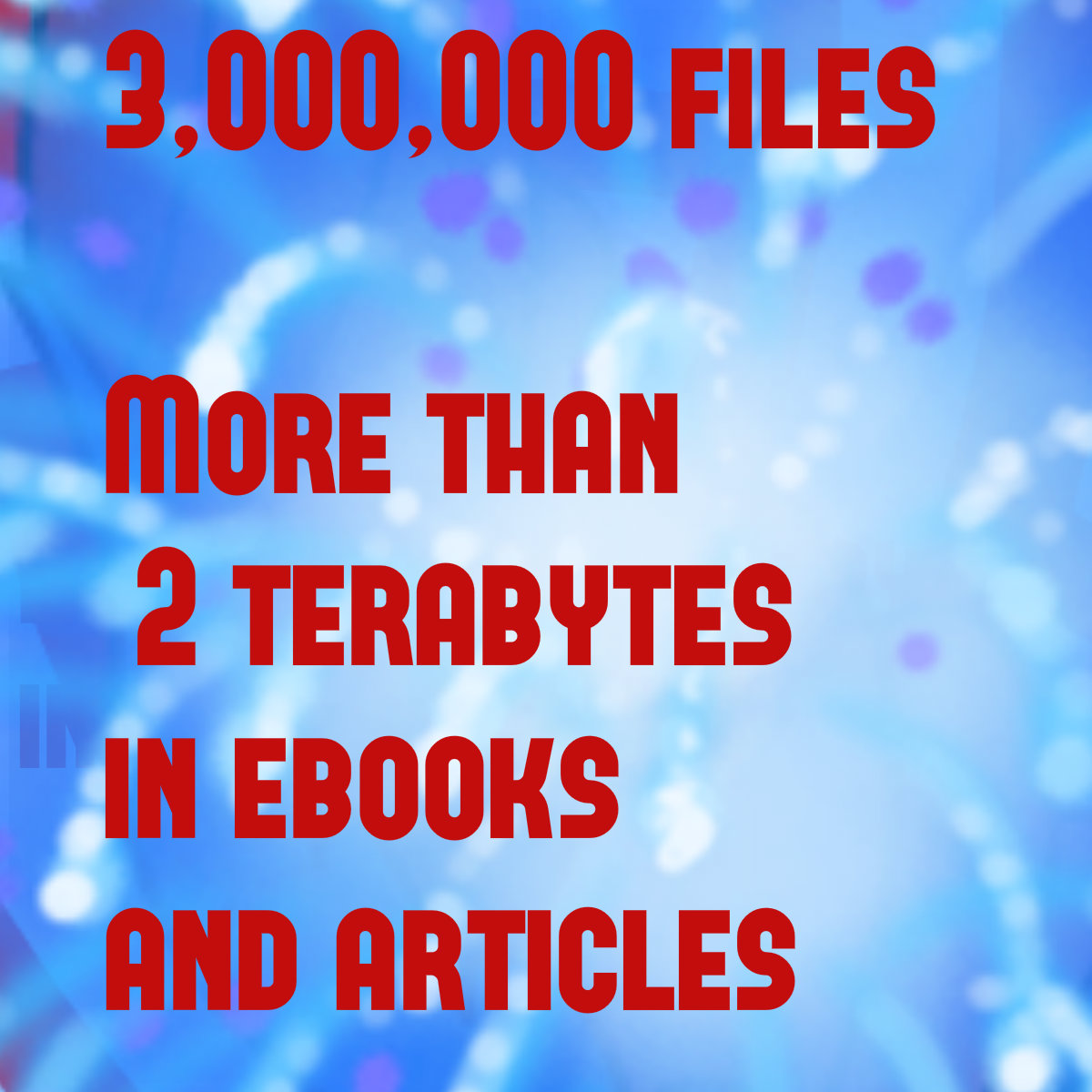 give more than two million articles and ebooks