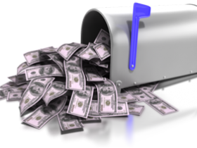Sell 1000 color ad spaces in Mailbox Money
