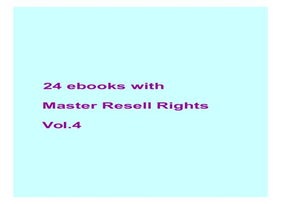 give24 ebooks with MRR Vol.4