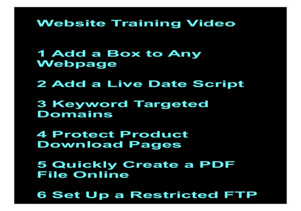 give Website Training Video