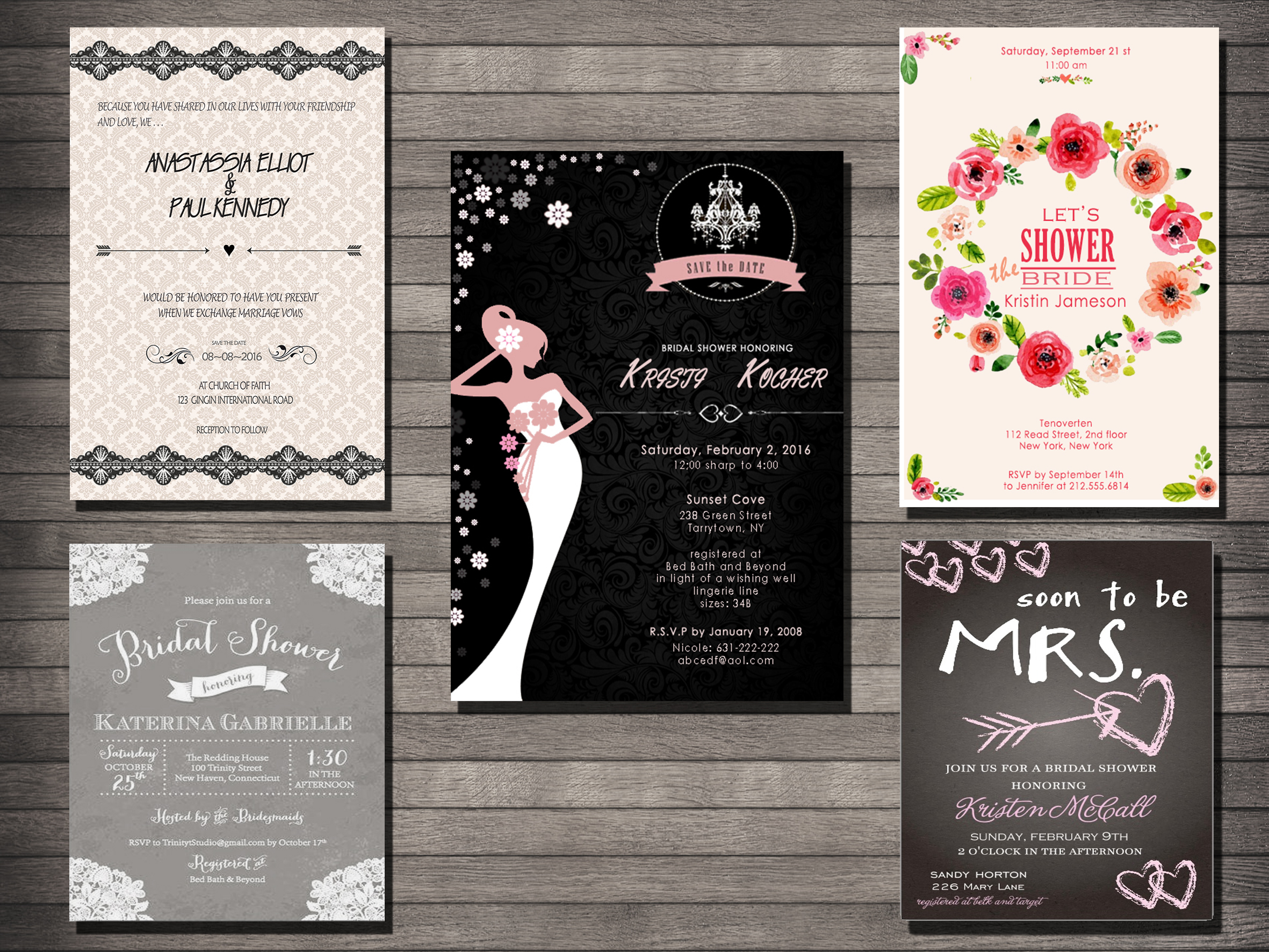 design the best invitation for you