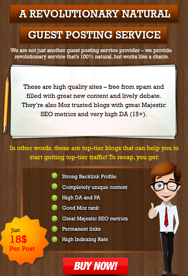 give Real Guestpost on HQ Niche Blogs for