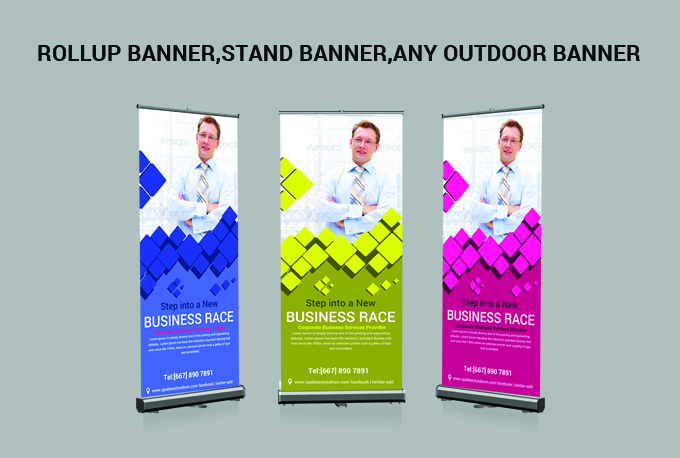 make Roll Up Banner Stand Banner facebook banners web banner