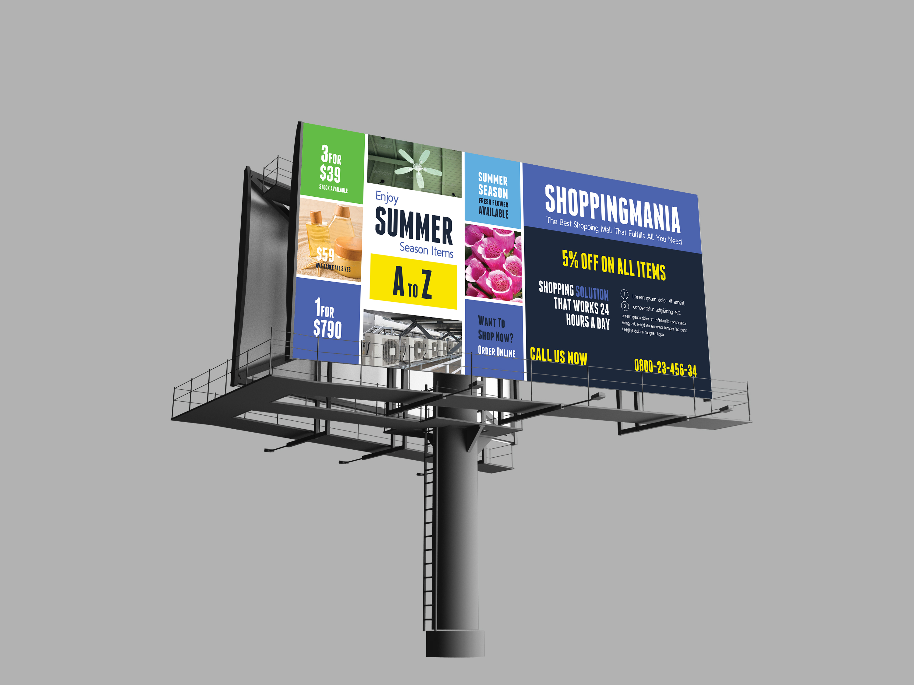 make stunning Billboard and any Outdoor Signage Poster