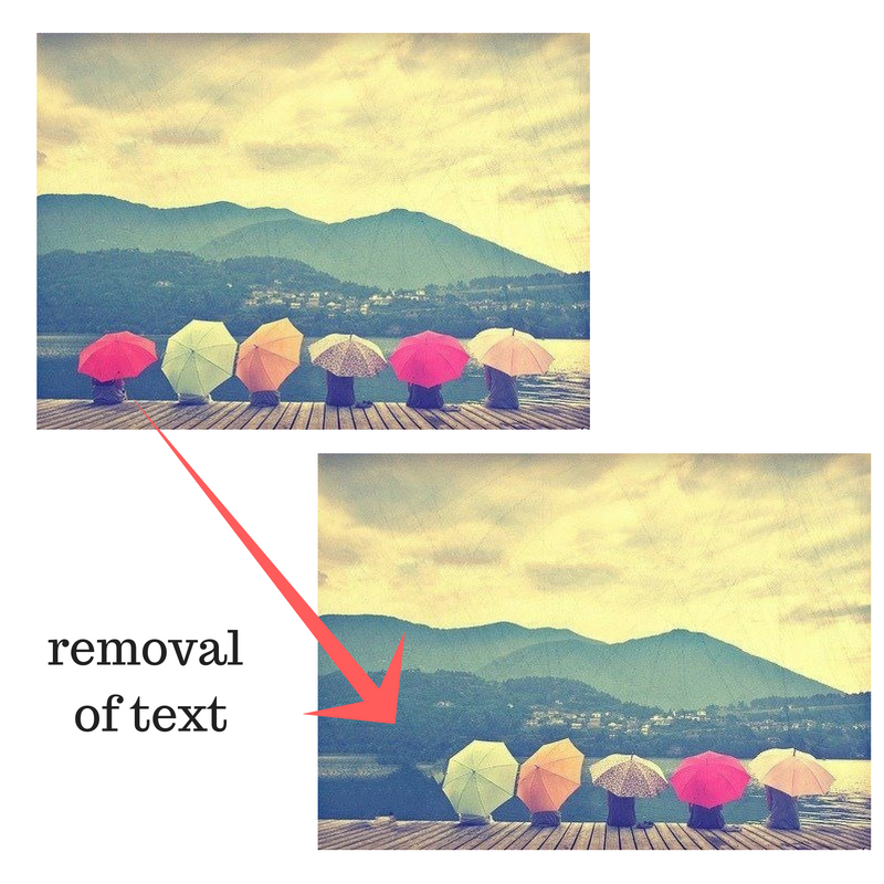 remove unwanted objects and fix imperfection on your photo