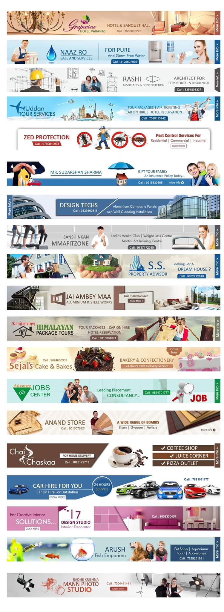 Design Amazing banner ads for you