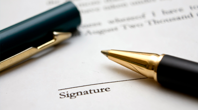 write your investment agreements