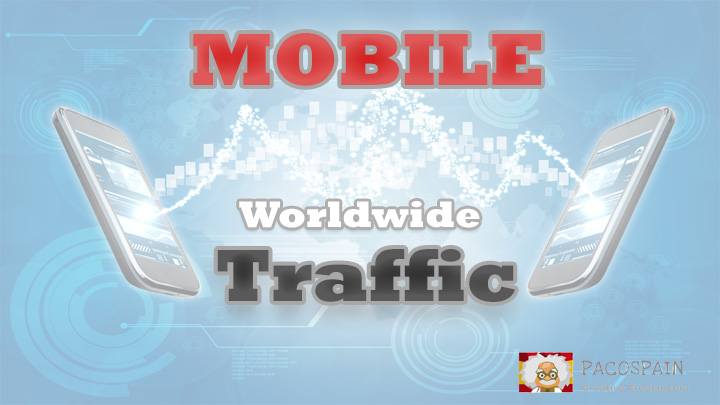 send MOBILE Web Traffic for 30 days