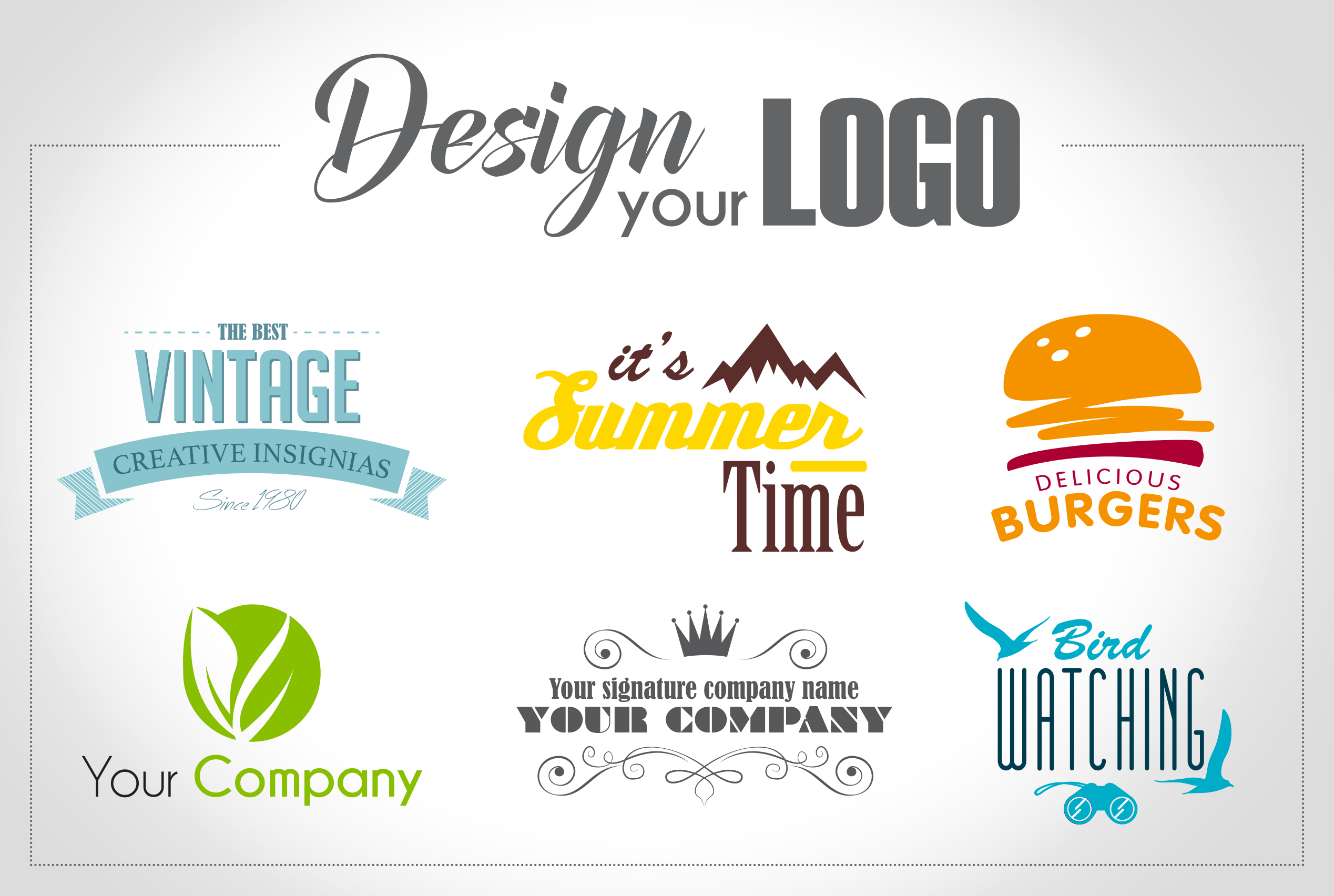 make for you the perfect logo with professionalism and creativity