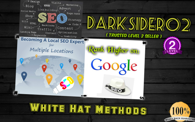 rank your website to the first page of Google
