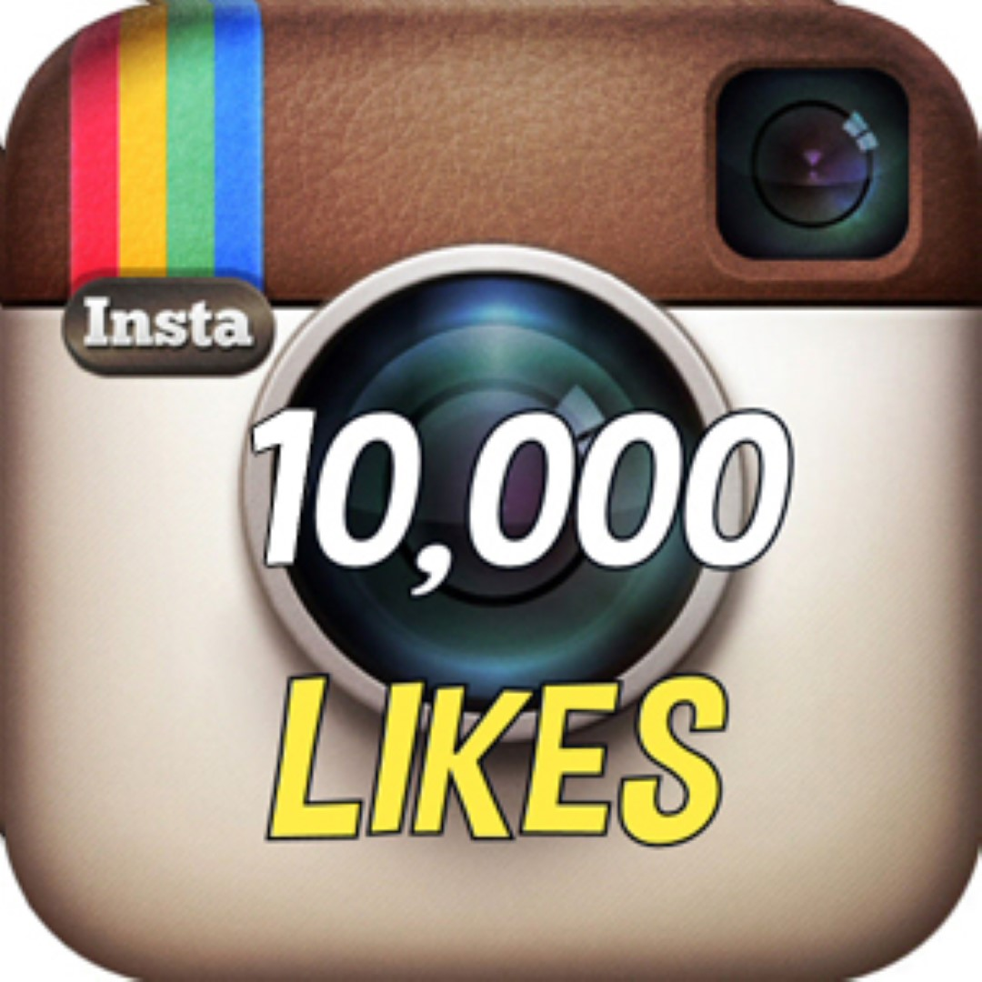 Add 10000 (10k) REAL instagram Likes