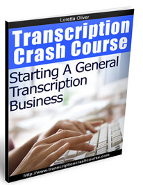 send details of Transcription Crash course Your Ticket to the Best Kept Work at Home Secret on the Internet