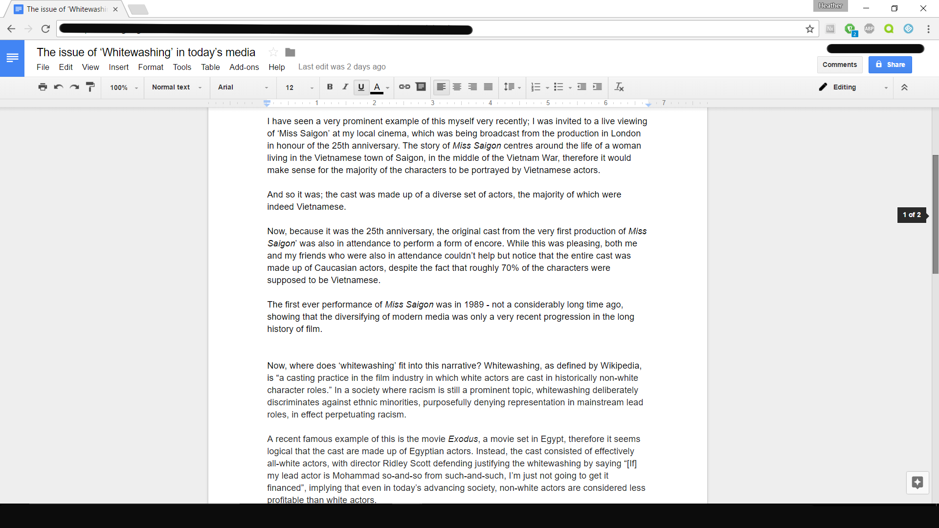 proof-read and edit 500 words