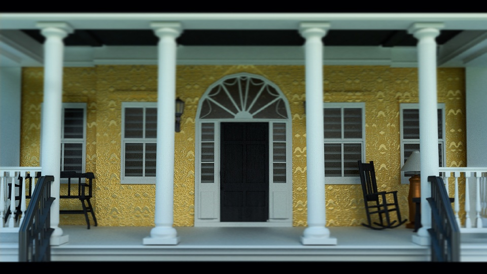 create and render photorealistic 3d model