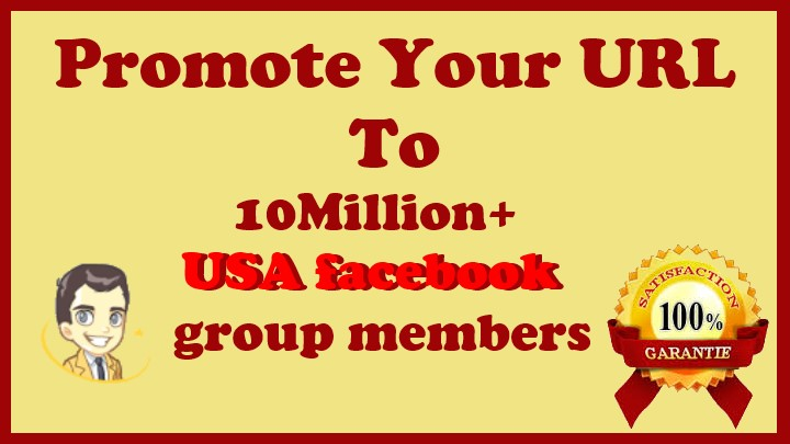 Share Your Link to 10 Million+ USA Facebook Group Members
