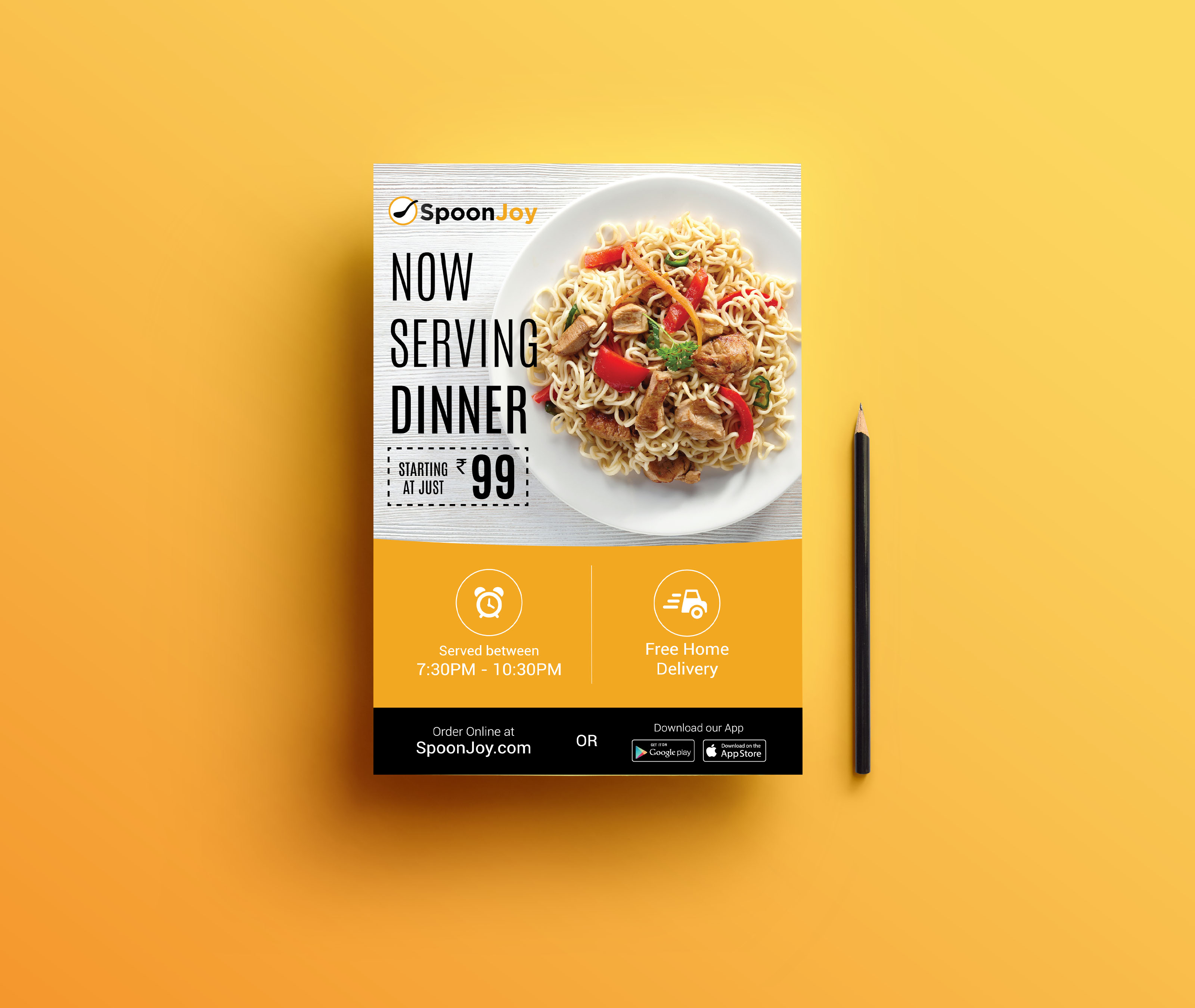 make professional flyers for you