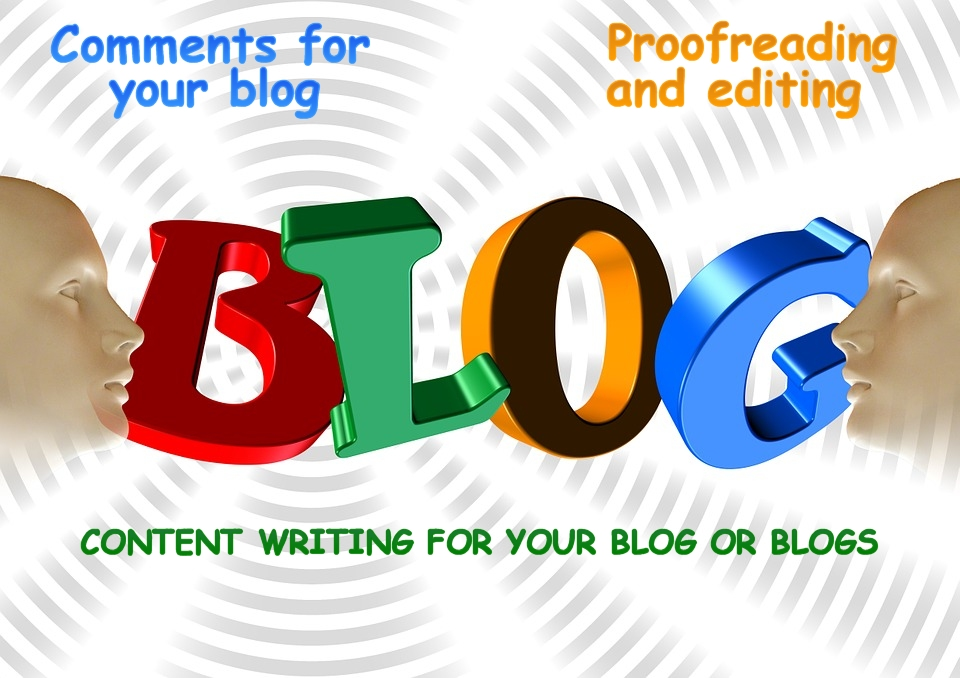 proofread and edit your blog