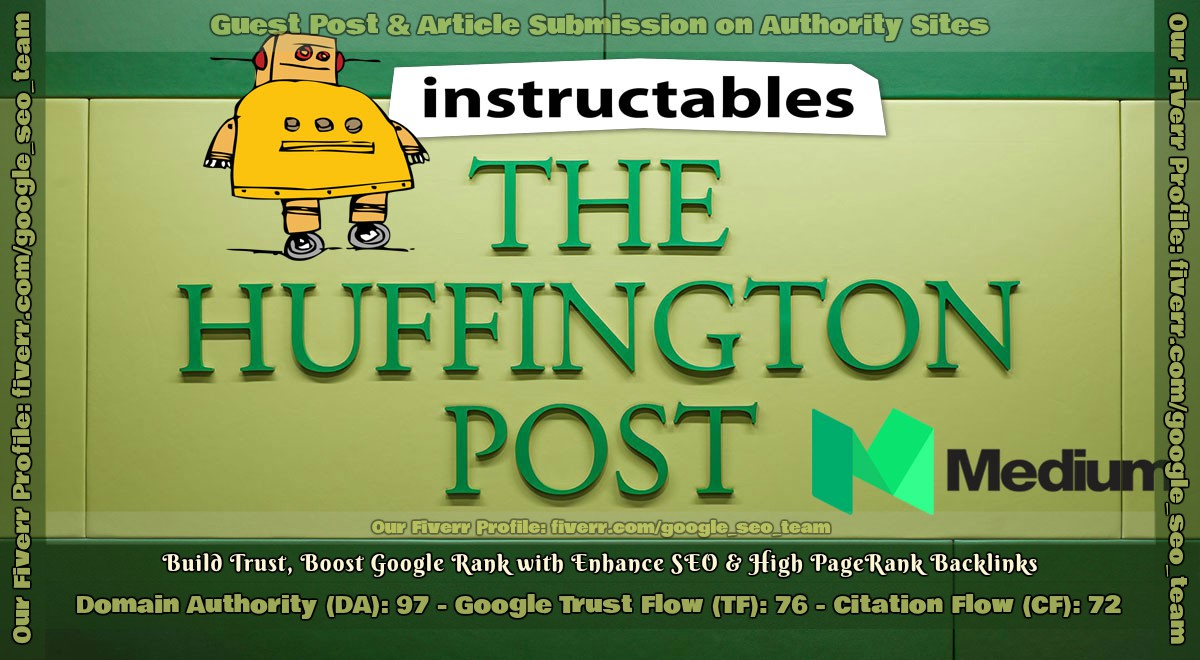 write and Publish Guest Post on Medium, Instructables